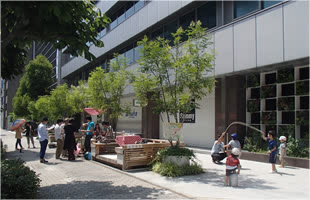 Use of Woods for Urban Community