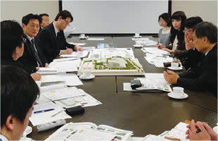 Greenery Planning for Cultural Exchange Facilities